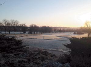 The Big Picture: Sunrise over Winter Hill Golf Club in Cookham by Roger Neill