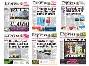 Letter from the editor: Express is looking to the future