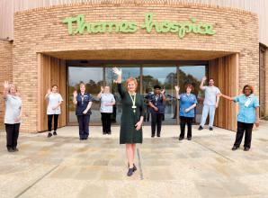 Patients and visitors welcomed to new Thames Hospice at Bray Lake