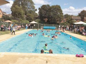 More than 200 people celebrate Polehampton Swimming Association's 50th birthday