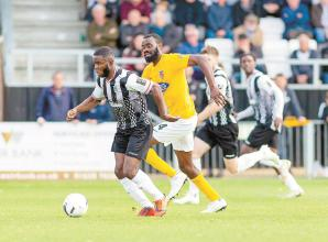 Maidenhead United win away at Solihull Moors to move seven points clear of the drop zone