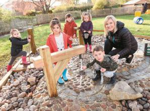 Cookham Nursery School uses Baylis grant to develop water play