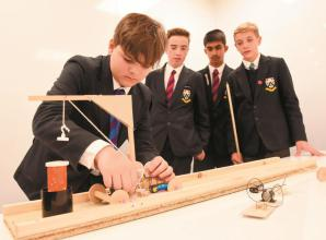 Secondary school pupils takes part in Rotary technology event