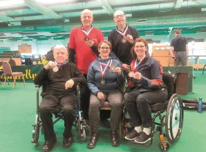 SportsAble's shooters chalk up six medals at Great Britain Open Championships