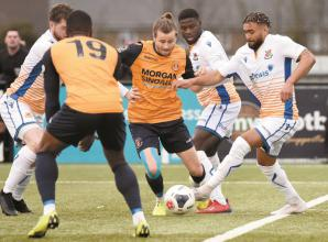 Baker says Slough Town will continue 'knocking on the door' to get first win of 2020