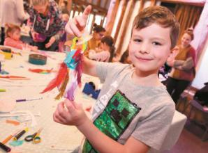 Half term activities at Norden Farm and Nicholsons