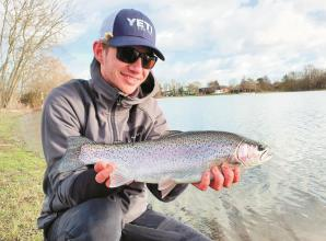Big Fish Column: Catches for anglers who braved the elements in between the storms