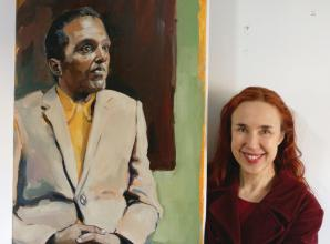 Maidenhead Artist reaches final of Portrait Artist of the Year