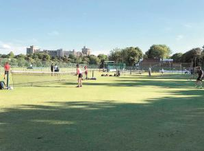 Grass court tennis returns to Home Park in Windsor