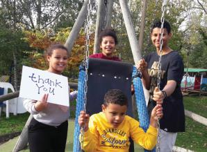 Double donations for Thames Valley Adventure Playground from two charitable trusts
