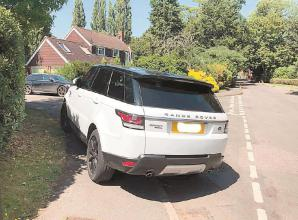 Dangerous parking in Hurley again as hot weather returns
