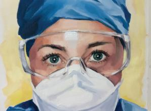 'Portraits for NHS Heroes' to go on display at Cookham and Maidenhead Arts Trail