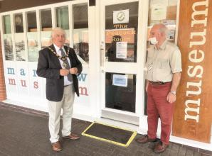 Smiles as Marlow Museum reopens following six-month closure