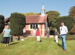 Victorian chapel restored to former glory