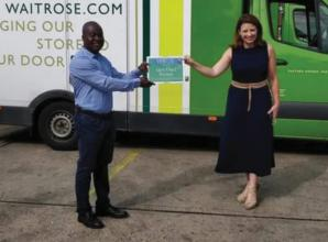 Iver Heath delivery driver awarded British Empire Medal for supporting vulnerable during lockdown