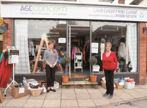 Plea from Age Concern not to leave charity donations outside
