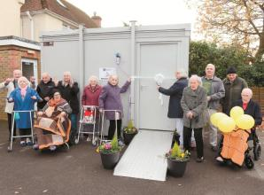 Taplow care home opens new portable building for family visits
