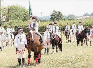 Nine-year-old helps Windsor Horse Rangers with fundraising aim of £20,000
