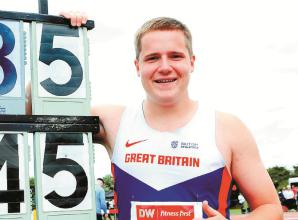 Norris hits European Championship qualifying mark with huge throw