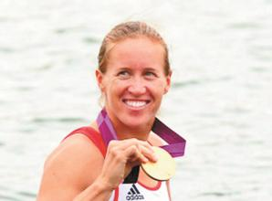 Glover strikes gold at European Championships in long-awaited rowing return