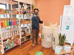 New Windsor eco store has had 'lovely welcome' to town