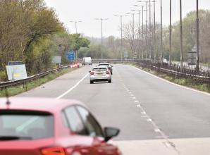 Faulty traffic lights on A308M Holyport slip road cause frustration