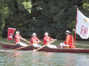 Royal Swan Upping returns to River Thames after one-year hiatus